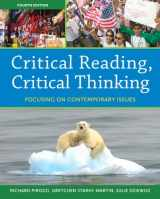 9780205835225-0205835228-Critical Reading Critical Thinking: Focusing on Contemporary Issues (Myreadinglab)