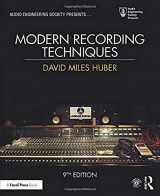 9781138954373-1138954373-Modern Recording Techniques (Audio Engineering Society Presents)