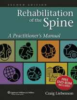 9780781729970-0781729971-Rehabilitation of the Spine: A Practitioner's Manual