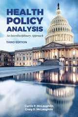 9781284120240-1284120244-Health Policy Analysis: An Interdisciplinary Approach