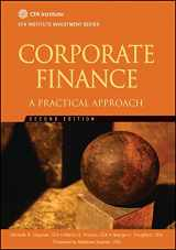 9781118105375-1118105370-Corporate Finance: A Practical Approach