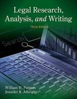 9781133591900-1133591906-Legal Research, Analysis, and Writing