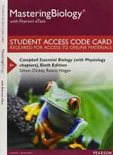 9780134018614-0134018613-Mastering Biology with Pearson Etext -- Standalone Access Card -- For Campbell Essential Biology (with Physiology Chapters)