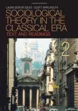 9781412975643-1412975646-Sociological Theory in the Classical Era: Text and Readings