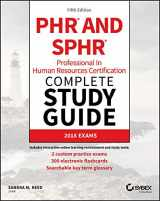 9781119426523-1119426529-PHR and SPHR Professional in Human Resources Certification Complete Study Guide: 2018 Exams