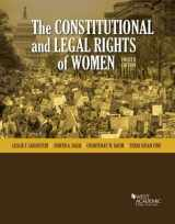 9781640201255-1640201254-The Constitutional and Legal Rights of Women (Higher Education Coursebook)