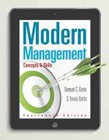 9780133859812-0133859819-Modern Management: Concepts and Skills (14th Edition) - Standalone book