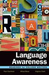 9781457697975-1457697971-Language Awareness: Readings for College Writers
