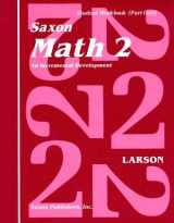 9780939798827-0939798824-Saxon Math 2: An Incremental Development Part 1 & 2 (Workbook and Fact Cards-2  volume set)
