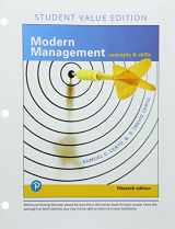 9780134729466-0134729463-Modern Management: Concepts and Skills, Student Value Edition (15th Edition)
