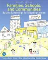 9780134747361-0134747364-Families, Schools, and Communities: Building Partnerships for Educating Children with Enhanced Pearson eText-- Access Card Package (What's New in Early Childhood Education)
