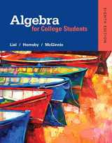 9780321969231-0321969235-Algebra for College Students plus MyLab Math -- Access Card Package (8th Edition) (What's New in Developmental Math?)