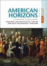 9780190659486-0190659483-American Horizons: U.S. History in a Global Context, Volume I