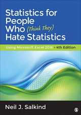 9781483374086-1483374084-Statistics for People Who (Think They) Hate Statistics: Using Microsoft Excel 2016