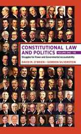 9780393696721-0393696723-Constitutional Law and Politics: Volume 1: Struggles for Power and Governmental Accountability (Eleventh Edition) (Vol. Volume 1)
