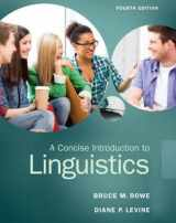 9780133811216-0133811212-A Concise Introduction to Linguistics (4th Edition)