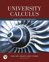 9780134995540-0134995546-University Calculus: Early Transcendentals (4th Edition)
