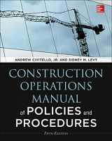 9780071826945-0071826947-Construction Operations Manual of Policies and Procedures, Fifth Edition