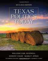 9781285853130-128585313X-Texas Politics Today 2015-2016 Edition (with MindTap Political Science Printed Access Card)