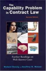 9781587787324-1587787326-The Capability Problem in Contract Law: Further Readings on Well-Known Cases, 2d (Coursebook)