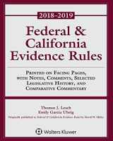 9781454894803-1454894806-Federal & California Evidence Rules: 2018 Supplement (Supplements)