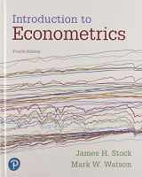 9780134610986-0134610989-Introduction to Econometrics Plus MyLab Economics with Pearson eText -- Access Card Package (4th Edition) (Pearson Series in Economics)