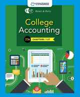 9781337794756-1337794759-College Accounting, Chapters 1-27