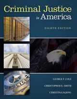 9781305261068-1305261062-Criminal Justice in America
