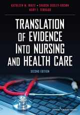 9780826117847-0826117848-Translation of Evidence into Nursing and Health Care, Second Edition