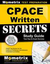 9781630942885-163094288X-CPACE Written Secrets Study Guide: CPACE Test Review for the California Preliminary Administrative Credential Examination