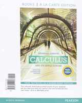 9780134072647-0134072642-Calculus and Its Applications Expanded Version Media Update Books a la Carte Edition Plus MyLab Math with Pearson eText -- Access Card Package