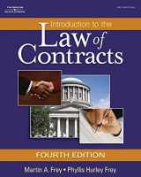 9781401864712-1401864716-Introduction to the Law of Contracts (Hardcover)