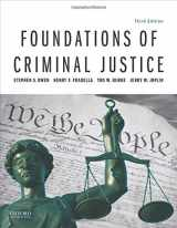 9780190855628-0190855622-Foundations of Criminal Justice