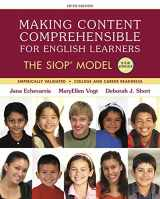 9780134403298-0134403290-Making Content Comprehensible for English Learners: The SIOP Model, with Enhanced Pearson eText -- Access Card Package (SIOP Series)