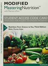 9780134024363-0134024362-Modified Mastering Nutrition with MyDietAnalysis with Pearson eText -- Standalone Access Card -- for Nutrition: From Science to You