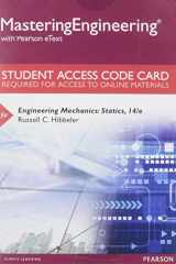9780133916379-0133916375-Mastering Engineering with Pearson eText -- Access Card - for Engineering Mechanics: Statics (14th Edition)