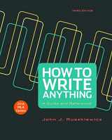 9781319085735-1319085733-How to Write Anything with 2016 MLA Update: A Guide and Reference