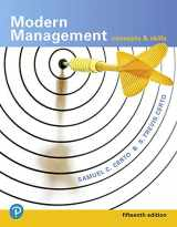 9780134729138-0134729137-Modern Management: Concepts and Skills (15th Edition) (What's New in Management)