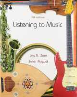 9780132233781-0132233789-Listening to Music and Compact Disc Set (4 CD's) (5th Edition)