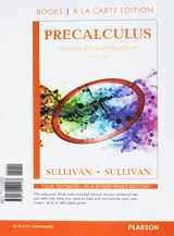 9780134120188-0134120183-Precalculus Enhanced with Graphing Utilities, Books A La Carte Edition (7th Edition)