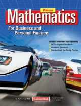 9780078805059-0078805058-Mathematics for Business and Personal Finance Student Edition
