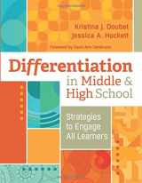 9781416620181-1416620184-Differentiation in Middle and High School: Strategies to Engage All Learners