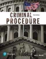 9780134548654-0134548655-Criminal Procedure (Justice Series) (The Justice Series)