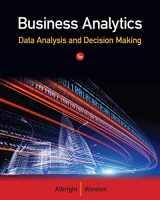 9781133629603-1133629601-Business Analytics: Data Analysis & Decision Making
