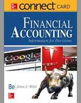9781259662966-1259662969-Connect Access Card for Financial Accounting: Information and Decisions