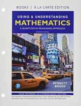 9780134716015-0134716019-Using & Understanding Mathematics, Books a la Carte edition