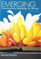 9781319056292-1319056296-Emerging: Contemporary Readings for Writers