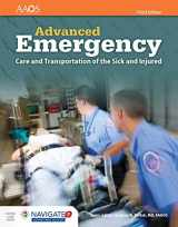 9781284121100-1284121100-Advanced Emergency Care and Transportation of the Sick and Injured Includes Navigate 2 Advantage Access (Orange)