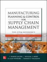 9781260108385-1260108384-Manufacturing Planning and Control for Supply Chain Management: The CPIM Reference, Second Edition
