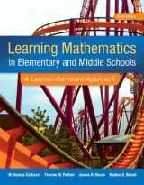 9780133783780-0133783782-Learning Mathematics in Elementary and Middle School: A Learner-Centered Approach, Enhanced Pearson eText with Loose-Leaf Version -- Access Card Package (6th Edition)